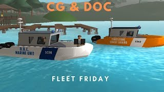 ROBLOX | Firestone Fleet Friday (Coast Guard & DOC Marine)