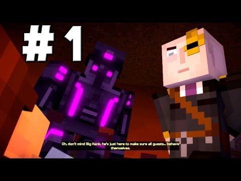 Minecraft Story Mode Season 2 Episode 3 Walkthrough Part 1 - Escape Gone Wrong