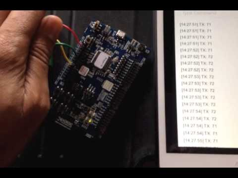 Getting Started with the nRF51822: Using an LDR for ADC to