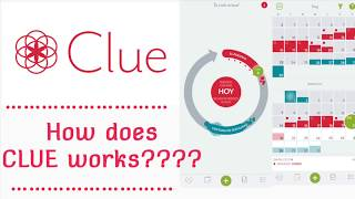 HOW DOES THE APP CLUE WORKS???// best period tracker
