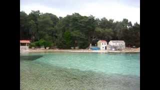 Punta Kriza auf Cres, Camping Baldarin