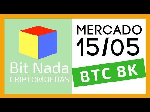 Mercado de Cripto! 15/05 Bitcoin 8.000 USD / Não seja o chato do rolê / Ledger