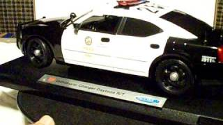 1/18 LAPD Dodge Charger R/T WITHOUT working lights