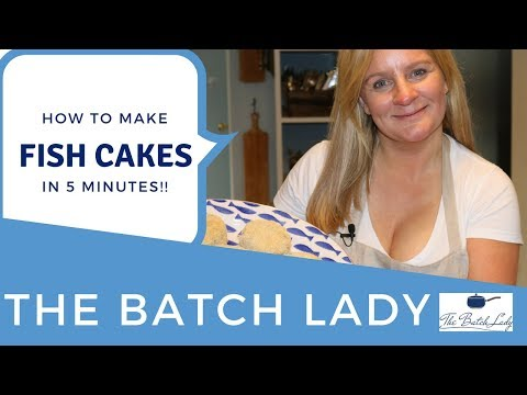 How To Make Fish Cakes In 5 Minutes!