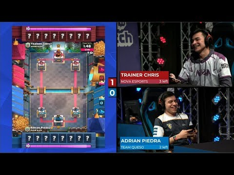 GAME 2 TEAM QUESO VS TEAM NOVA ESPORTS  Clash Royale SXSW Gaming Tournament 2018
