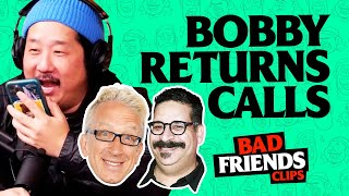 Bobby Calls Andy Dick & Erik Griffin | Bad Friends Clips