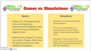 EMS 300 Education Games and Simulations