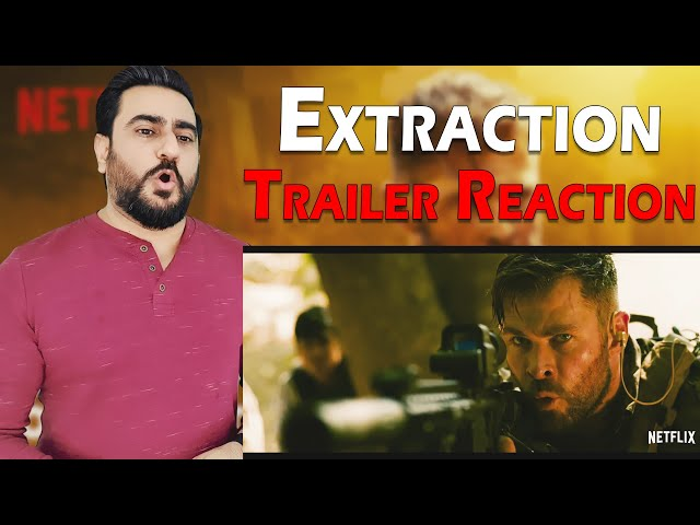 Extraction Official Trailer Reaction | Netflix | Extraction Reaction | IAMFawad