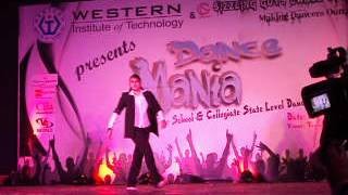 dheem ta dare dani (fusion too bad michael jackson) dance mania