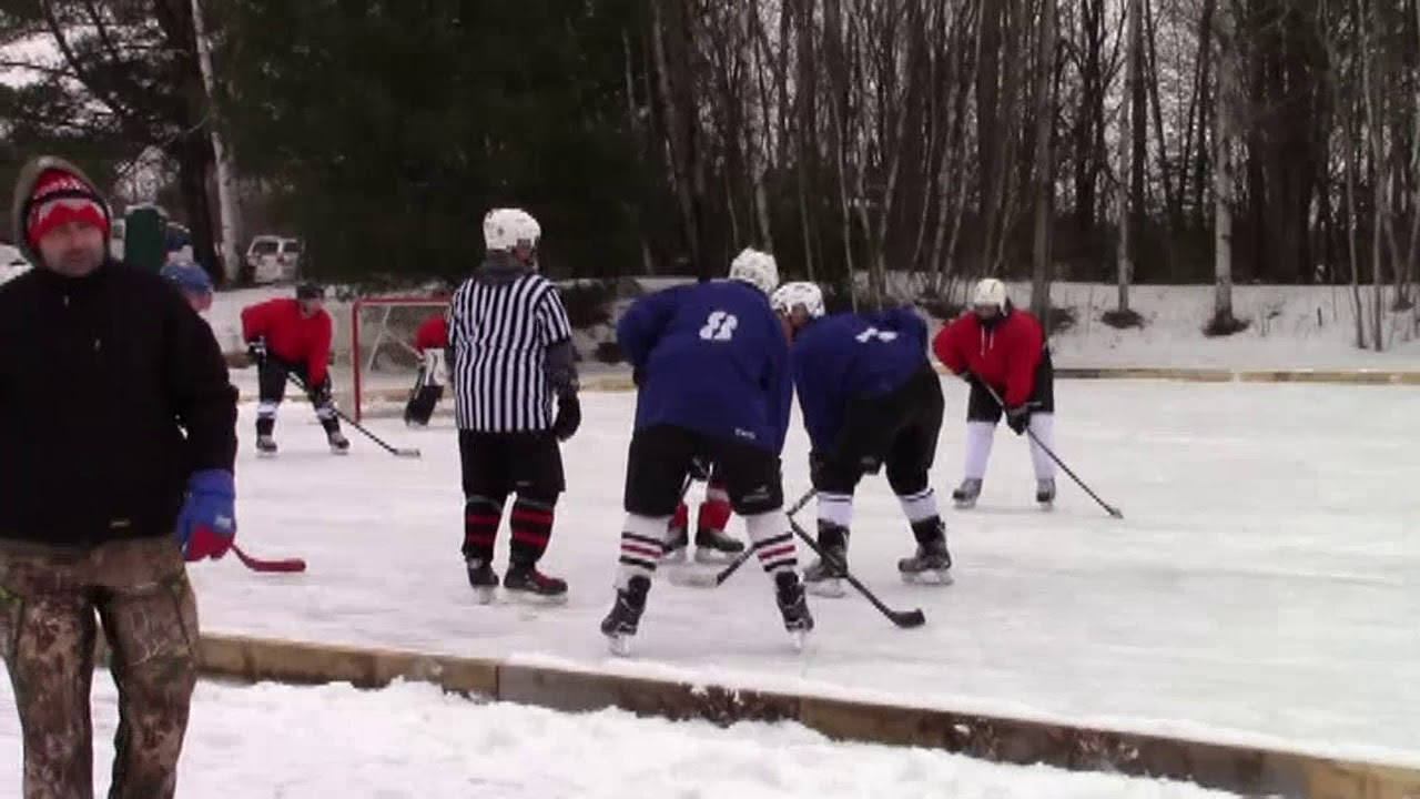 Mahoney Pond Hockey part two  2-3-18