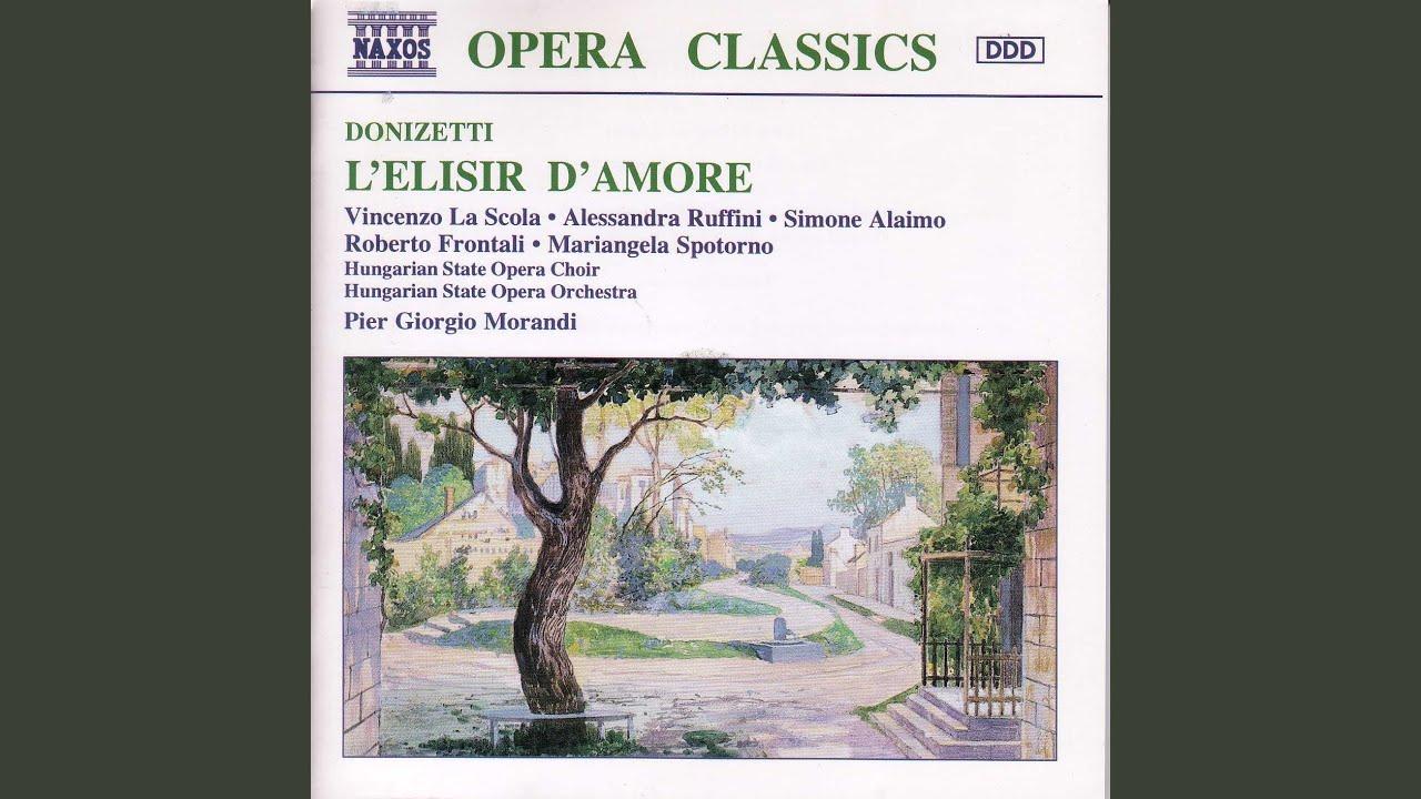 Download L'elisir d'amore: Act I Scene 2: Cavatina - Come Paride vezzoso