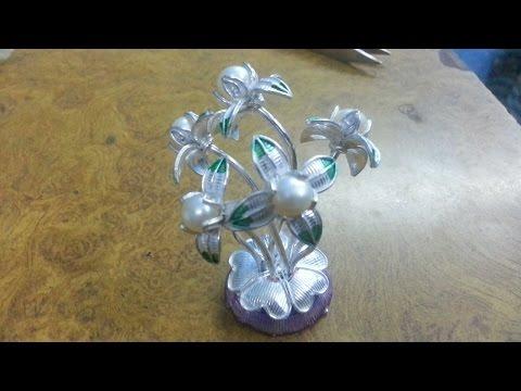 silver  pearl tree making full video