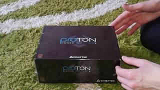 Chieftec 400W Proton (BDF-400S) - блок живлення  огляд / unboxing power supply ATX Вперше на youtube