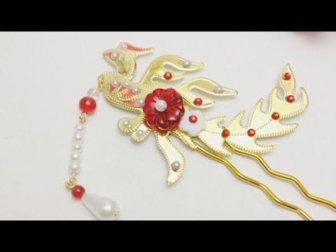 DIY Tutorial - Phoenix Chinese Hair Accessories