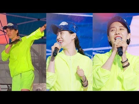 Song Ji Hyo at 'Pohang Pohang Land' music festival 2019 | 송지효 x 퐝퐝랜드