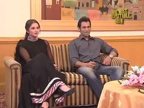 "The Most Respectable Show ""Shoiab Malik & Sania Mirza Special"" Part 2of 8"