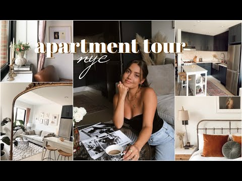 NYC APARTMENT TOUR | 1 Bedroom in Brooklyn