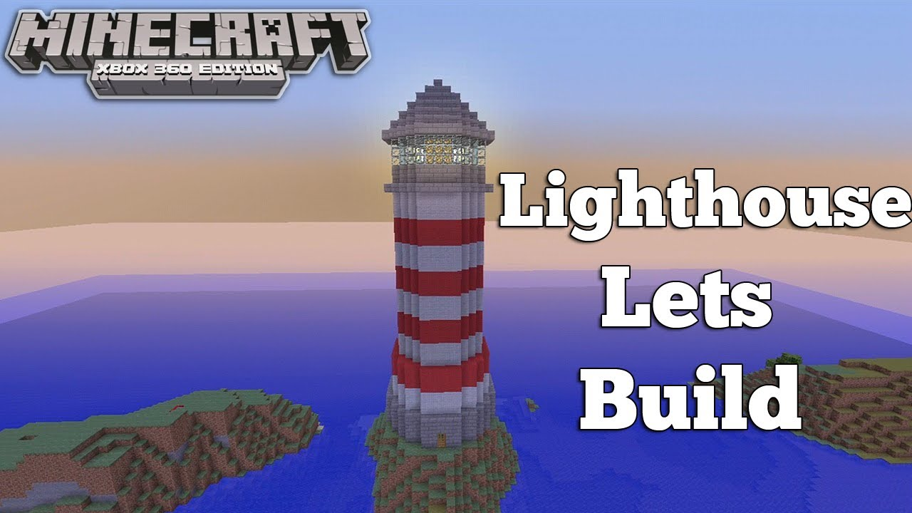 Minecraft xbox 360 lighthouse lets build youtube for How to light a house