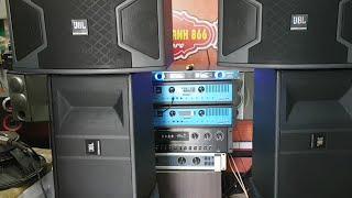 Test Pa500, Jbl 6012, Jbl 310, Mic Blxc9 Cho Khách