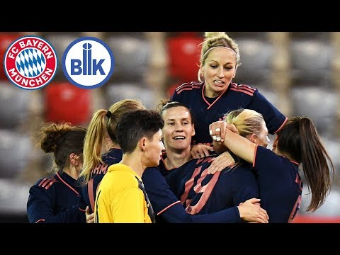FCB Women Proceed To Quarter-Finals | FC Bayern Vs. BIIK-Kazygurt | Full Game | Round Of 16 - UWCL