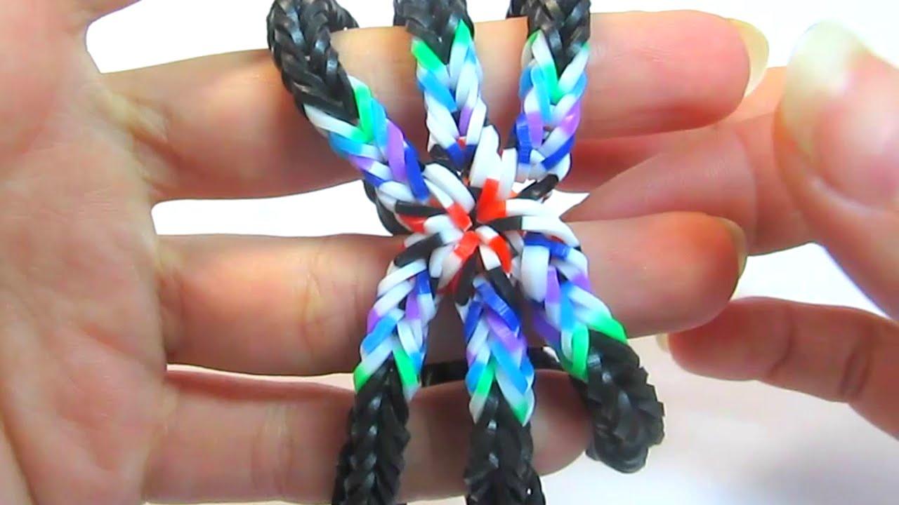 схема плетения фенечки инь янь