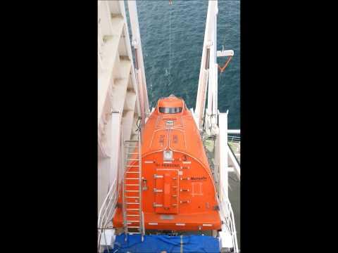 Petrojarl Knarr Lifeboat Drop Test