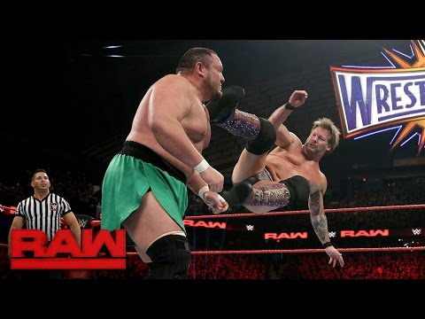 Chris Jericho vs. Samoa Joe: Raw, March 6, 2017