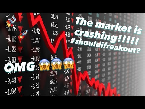 OMG! The market is crashing! 😱📉😱