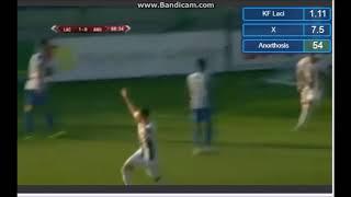 KF Laci - Anorthosis Famagusta 1-0 Goal