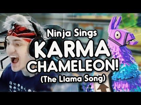 Ninja sings