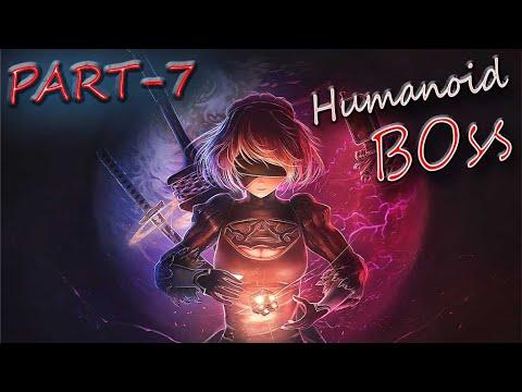 Nier Automata  Gameplay Walkthrough Part 7 Humanoid robot BOSS || PC