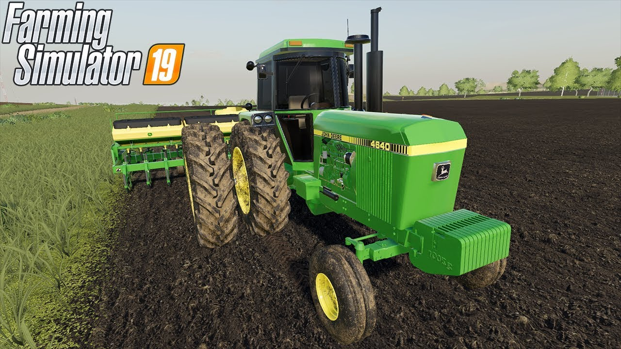 FARMING SIMULATOR 19 - JOHN DEERE 4640 - YouTube