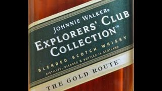 Johnnie Walker Explorers Club Collection 'The Gold Route': The Single Malt Review Episode 50