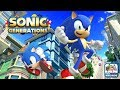 Sonic Generations - Free Running at Top Speeds (Xbox 360/One Gameplay)
