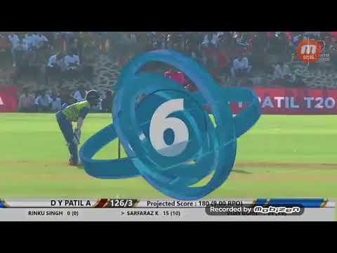 Sarfaraz khan score 38 in 18 balls in |T20| 2018