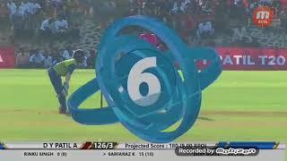 Sarfaraz khan score 38 in 18 balls in  T20  2018