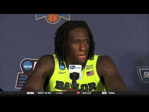 Taurean Prince describes how Baylor was out-rebounded by Yale