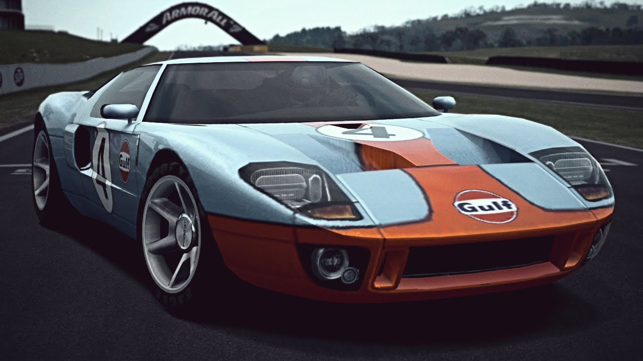 Gt Ford Gt Lm Race Car Exhaust Video