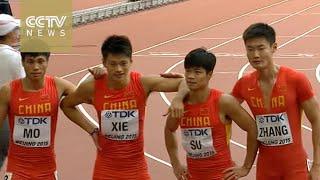 China sets new Asian record during IAAF men