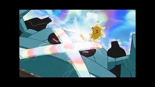 Pokemon Ash Pikachu vs Metagross