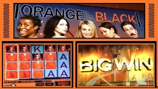 *BIG WIN* on Orange is the New Black ✦ LIVE PLAY ✦ Slot Machine Pokie at Cosmo and Mohawk
