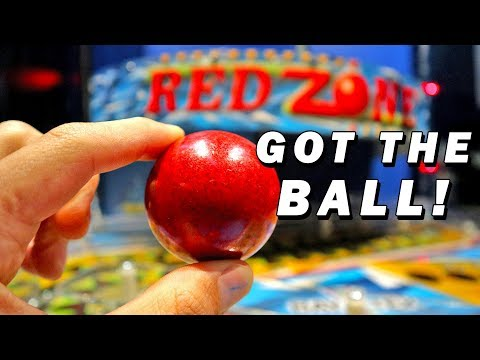 I Unlocked the Red Zone Arcade Machine!