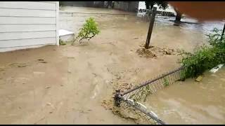 White Sulphur Springs Greenbrier West Virginia flood June 23, 2016