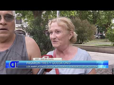 Marplatenses destacan logros y pendientes de la gestión de Arroyo
