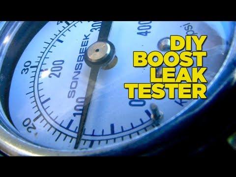 Boost Leak Tester DIY