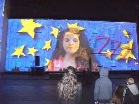Derry City Lumiere Light Show December 2013