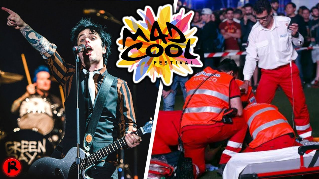 green day criticised for playing show after acrobat falls to death youtube. Black Bedroom Furniture Sets. Home Design Ideas