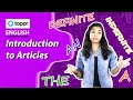 Class 8 English : Articles | Introduction to Articles