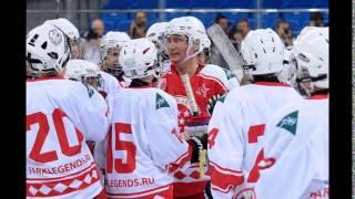Команда Путина обыграла одаренных детей в хоккей