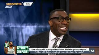 Undisputed 3/5/2019 | Shannon rips out the Skip's soul: Kyrie not BORN to become a LEADER